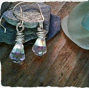 Handcrafted Jewelry - ⚓ MERMAIDS TEARDROP EARRINGS ⚓